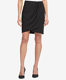 DKNY Pleated Wrap Skirt, Created for Macy's