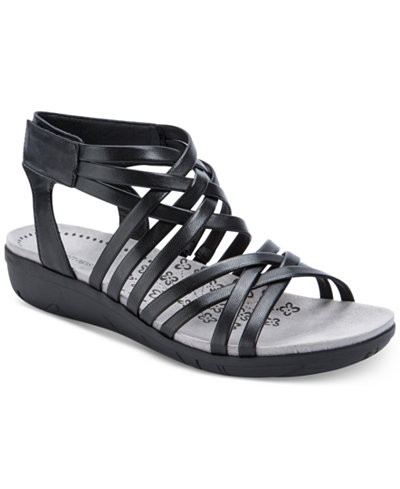 Bare Traps Janny Strappy Wedge Sandals