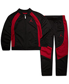 Jordan 2-Pc. Colorblocked Active Jacket & Pants Set, Little Boys