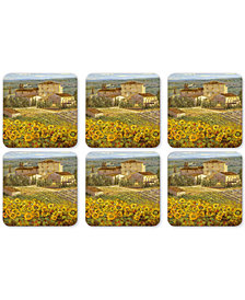 Pimpernel Tuscany  Set of 6 Coasters