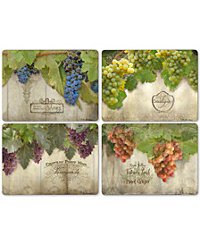 Pimpernel Tuscan Vineyard Set of 4 Placements