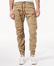 G-Star Men's Powel Qane Camouflage-Print Cargo Joggers, Created for Macy's