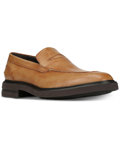 Donald Pliner Men's Edwyn Leather Loafers Men's Shoes pukWOic