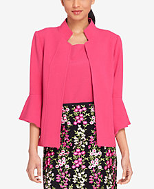 Tahari ASL Bell-Sleeve Jacket, Regular & Petite