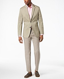 Men's Luxe Slim-Fit Stretch Suit Separates, Created for Macy's