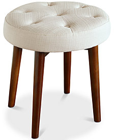 Penelope Round Stool, Quick Ship