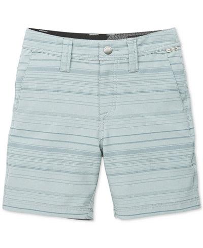 Volcom Striped Shorts, Toddler Boys