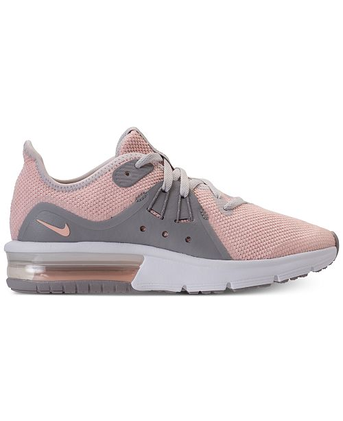 56c8e037f0 Nike Big Girls' Air Max Sequent 3 Running Sneakers from Finish Line ...