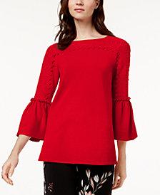 Alfani Bell-Sleeve Sweater, Created for Macy's