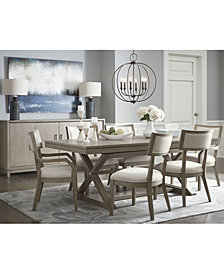Rachael Ray Highline Expandable Trestle Dining Furniture Collection