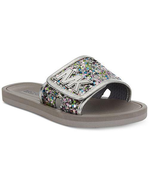 0d9b46fa696b ... Michael Kors Eli Glow Slide Sandals