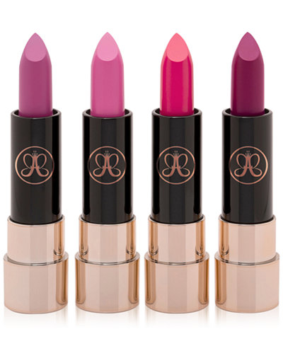 Anastasia Beverly Hills 4-Pc. Mini Matte Lipstick Set - Pink