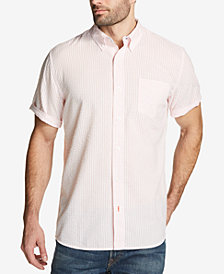Weatherproof Vintage Men's Seersucker Gingham Shirt