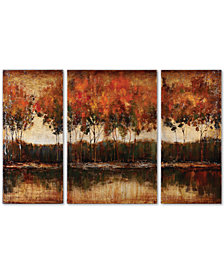 Uttermost Tri-Lakes 3-Pc. Canvas Print Set