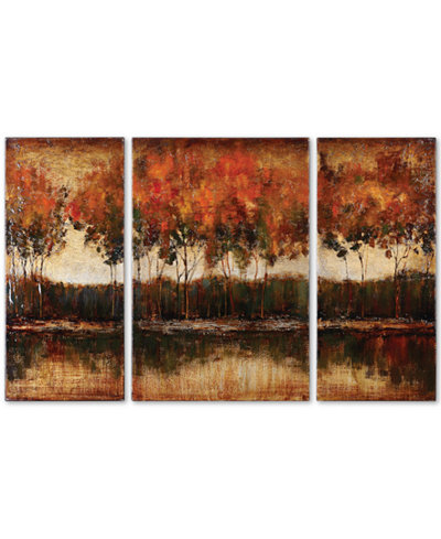 Uttermost Tri-Lakes 3-Pc. Canvas Print Set