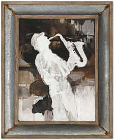 Uttermost Jazz Sax Wall Art