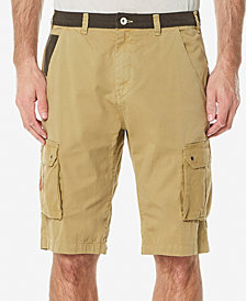 Buffalo David Bitton Men's Colorblocked Cargo Shorts