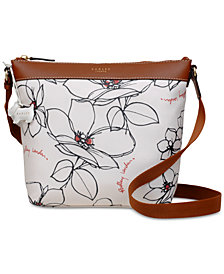 Radley London Floral Zip-Top Small Crossbody