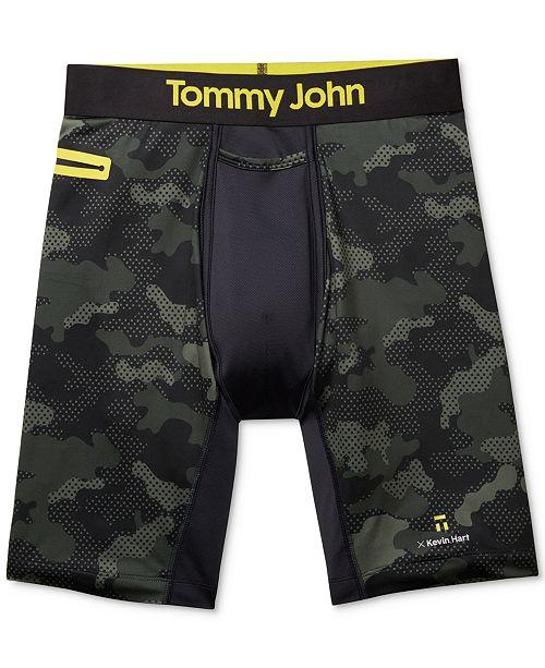 1836c5df7f Tommy John Men s Kevin Hart Sport Printed Boxer Briefs   Reviews ...