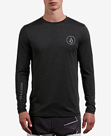 Volcom Men's Lido Logo Long-Sleeve Swim Shirt