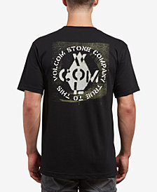 Volcom Men's Cage Graphic-Print T-Shirt