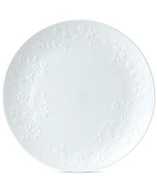Wild Strawberry White Dinner Plate