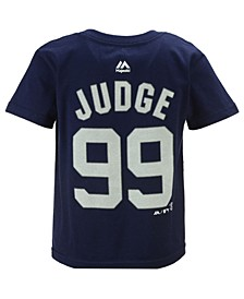 Aaron Judge New York Yankees Official Player T-Shirt, Toddler Boys (2T-4T)