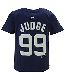 Majestic Aaron Judge New York Yankees Official Player T-Shirt, Toddler Boys (2T-4T)