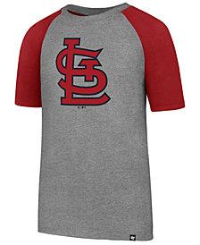 '47 Brand St. Louis Cardinals Super Rival Raglan T-Shirt, Big Boys (8-20)