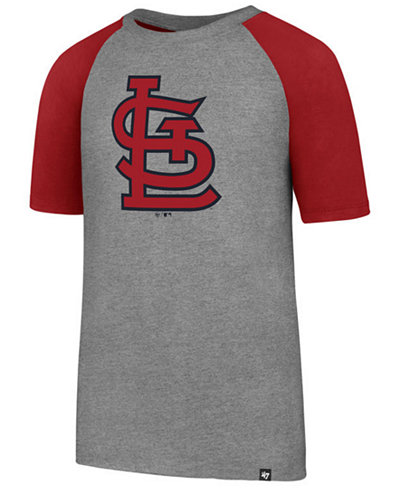 '47 Brand St. Louis Cardinals Super Rival Raglan T-Shirt, Big Boys (8-20)