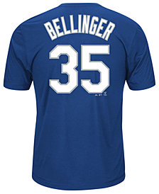 Majestic Men's Cody Bellinger Los Angeles Dodgers Cool Base Name and Number T-Shirt