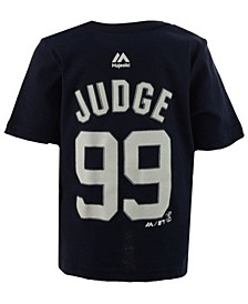 Aaron Judge New York Yankees Official Player T-Shirt, Infant Boys (12-24 Months)