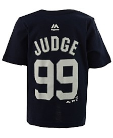 Majestic Aaron Judge New York Yankees Official Player T-Shirt, Infant Boys (12-24 Months)