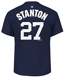 Majestic Men's Giancarlo Stanton New York Yankees Official Player T-Shirt