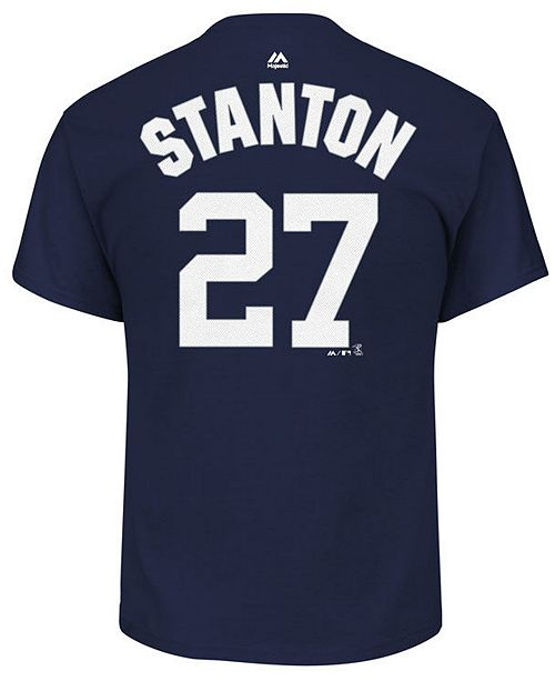 release date: b9acb 933e2 Men's Giancarlo Stanton New York Yankees Official Player T-Shirt