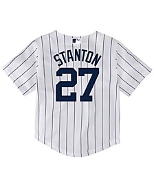 Giancarlo Stanton New York Yankees Player Replica Cool Base Jersey, Toddler Boys (2T-4T)