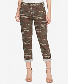 WILLIAM RAST Mid Rise Camo-Print Utility Pants