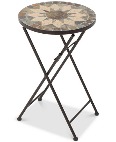 Cory Round Side Table, Quick Ship