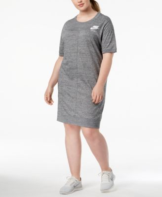 Plus Size Sportswear Gym Vintage Dress