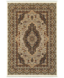 "Oriental Weavers Masterpiece Kerman Ivory 9'10"" x 12'10"" Area Rug"