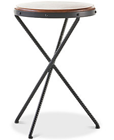 Lyons Round Side Table, Quick Ship