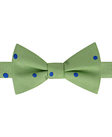 Tommy Hilfiger Men's Derby Oxford Dot Pre-Tie Silk Bow Tie
