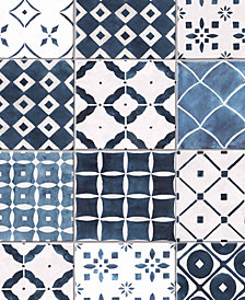 Graham & Brown Porches Blue Wallpaper