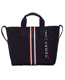 Tommy Hilfiger Arona Printed Canvas Tote