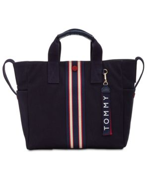 ARONA PRINTED CANVAS TOTE