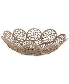 Shiraleah Noemi Macrame Platter