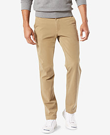 Dockers Men's Downtime Slim Tapered Fit   Smart 360 FLEX Khaki Stretch Pants