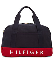 Tommy Hilfiger Sporty Signature Canvas Duffle