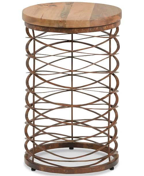 Simpli Home CLOSEOUT! Galtan Accent Table