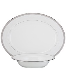 Waterford	Olann Platinum Serving Set
